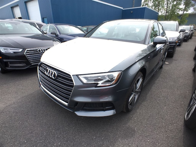 2018 Audi A3 Berline 2.0T Progressiv Quattro 6sp S Tronic Sedan