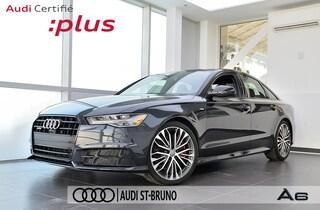 2017 Audi A6 3.0 TFSI QUATTRO COMPETITION CPO INCLUS  Berline