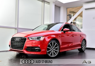 2015 Audi A3 1.8 FWD TFSI PROGRESIV S LINE +CONVENIENCE PACK Berline