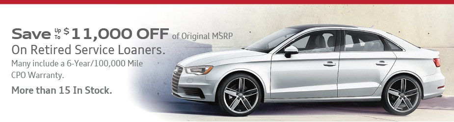 Audi Executive Demo Car Specials Marietta Service Loaner Vehicles - Audi loaner car