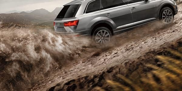 2018 Audi Q7 Five-Link Suspension