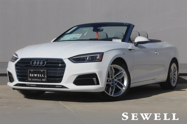 New 2019 Audi A5 2.0T Premium Cabriolet For Sale in Houston, TX