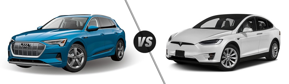 Audi e-tron vs Tesla Model X