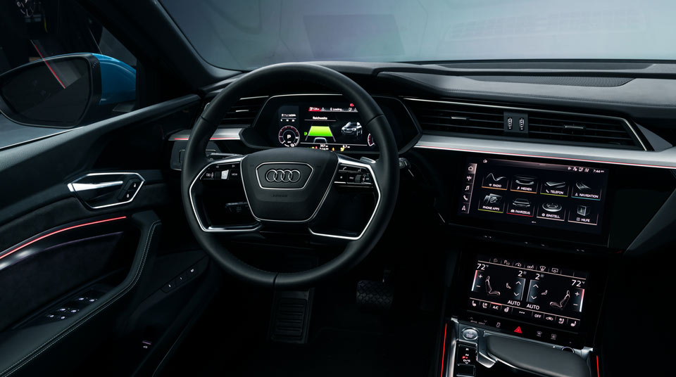 Audi e-tron Connectivity and Features