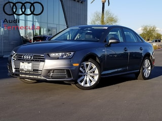 Certified Pre-Owned 2018 Audi A4 2.0T Sedan For Sale in Temecula, CA
