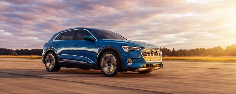 New Audi e-tron electric SUV
