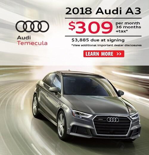 New Audi Finance Lease Specials In Temecula CA - Audi finance