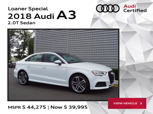 Audi Demo Cars For Sale Audi Toms River NJ - Audi loaner car