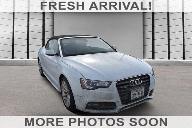 2016 Audi A5 Premium Plus Cabriolet Auto Premium Plus