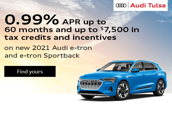 0.99% APR up to 60 months and up to $7,500 in tax credits and incentives