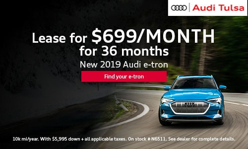 New 2019 Audi e-tron $699/month Lease