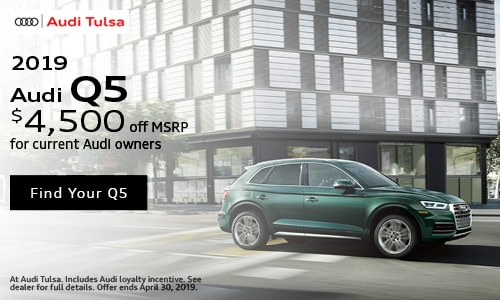 April Audi Q5 Audi Owner Offer