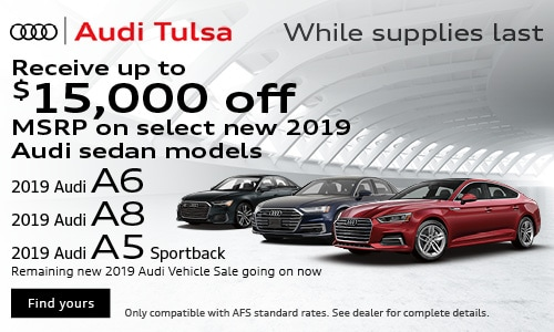 New 2019 Audi Vehicle Offer