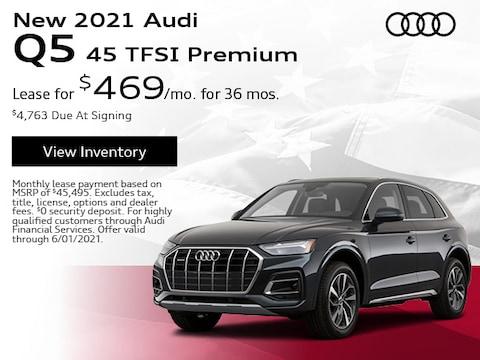 New 2021 Audi Q5 45 TFSI Premium