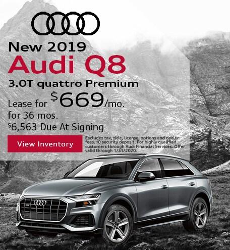 2019 - Audi - Q8