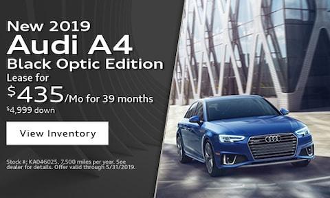 New 2019 Audi A4