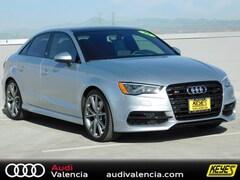 2016 Audi S3 Premium Plus Sedan