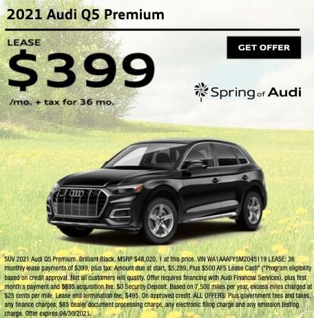 2021 Audi Q5 Premium
