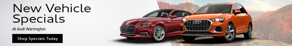 New Vehicle Specials At Audi Warrington