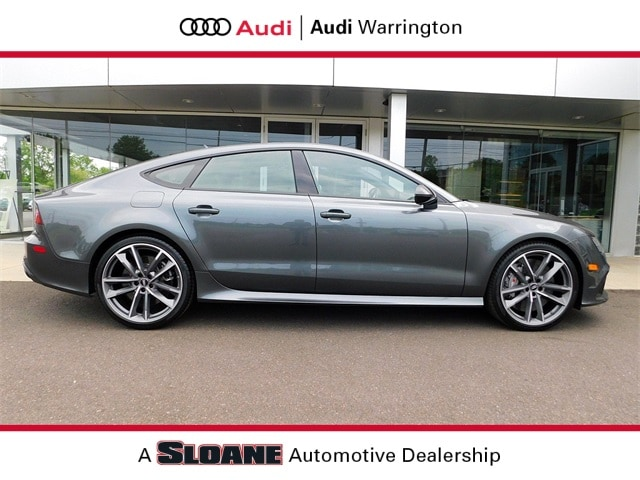 Certified pre owned 2018 Audi RS 7 4.0T Performance Hatchback Warrington