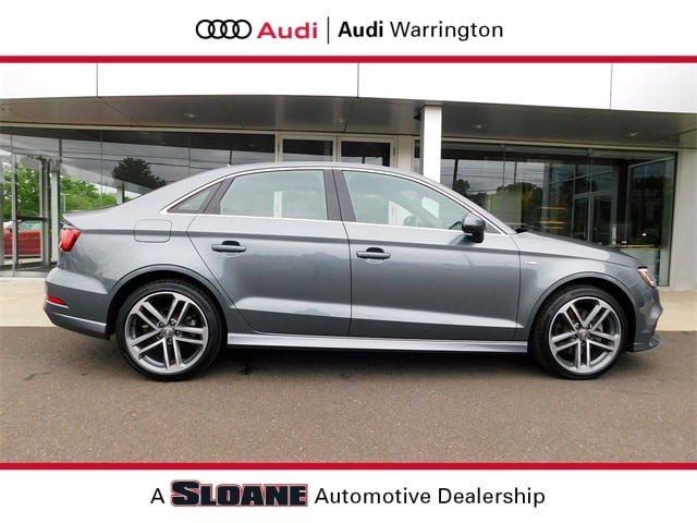 Certified pre owned 2017 Audi A3 2.0T Premium Plus Sedan Warrington