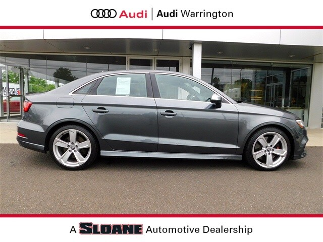 Certified pre owned 2017 Audi S3 2.0T Premium Plus Sedan Warrington