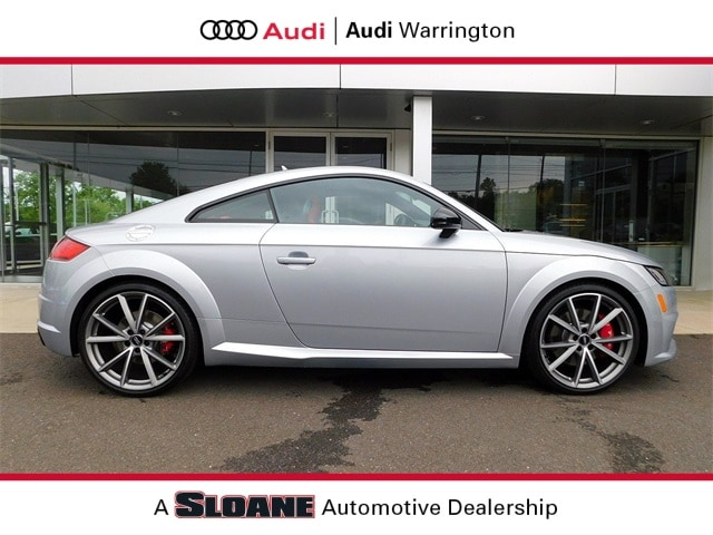 Certified pre owned 2018 Audi TTS 2.0T Coupe Warrington