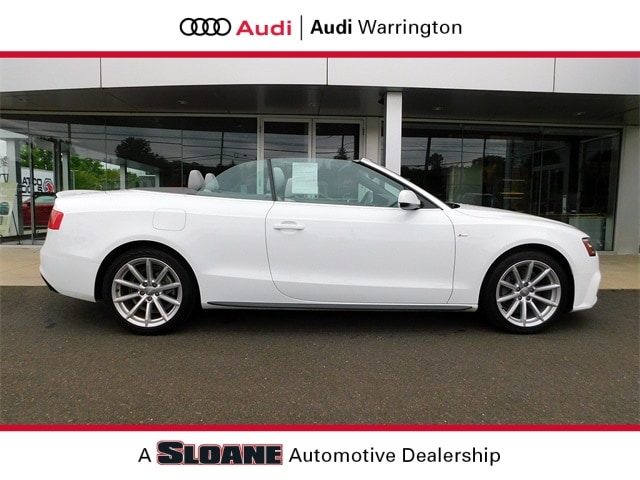 Certified pre owned 2017 Audi A5 2.0T Sport Convertible Warrington