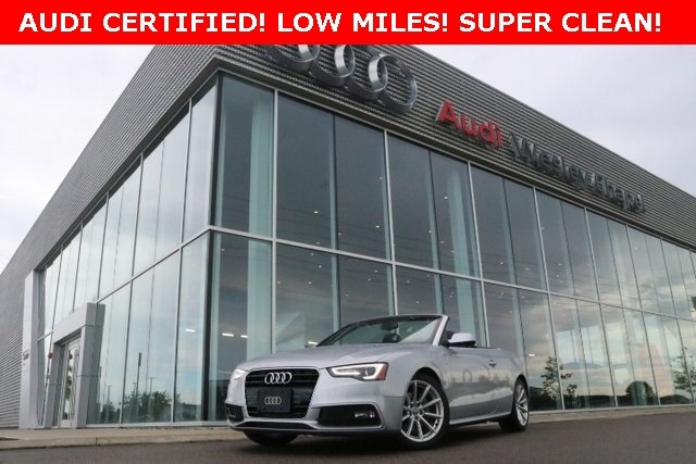 2016 Audi A5 2.0T Premium Plus Convertible