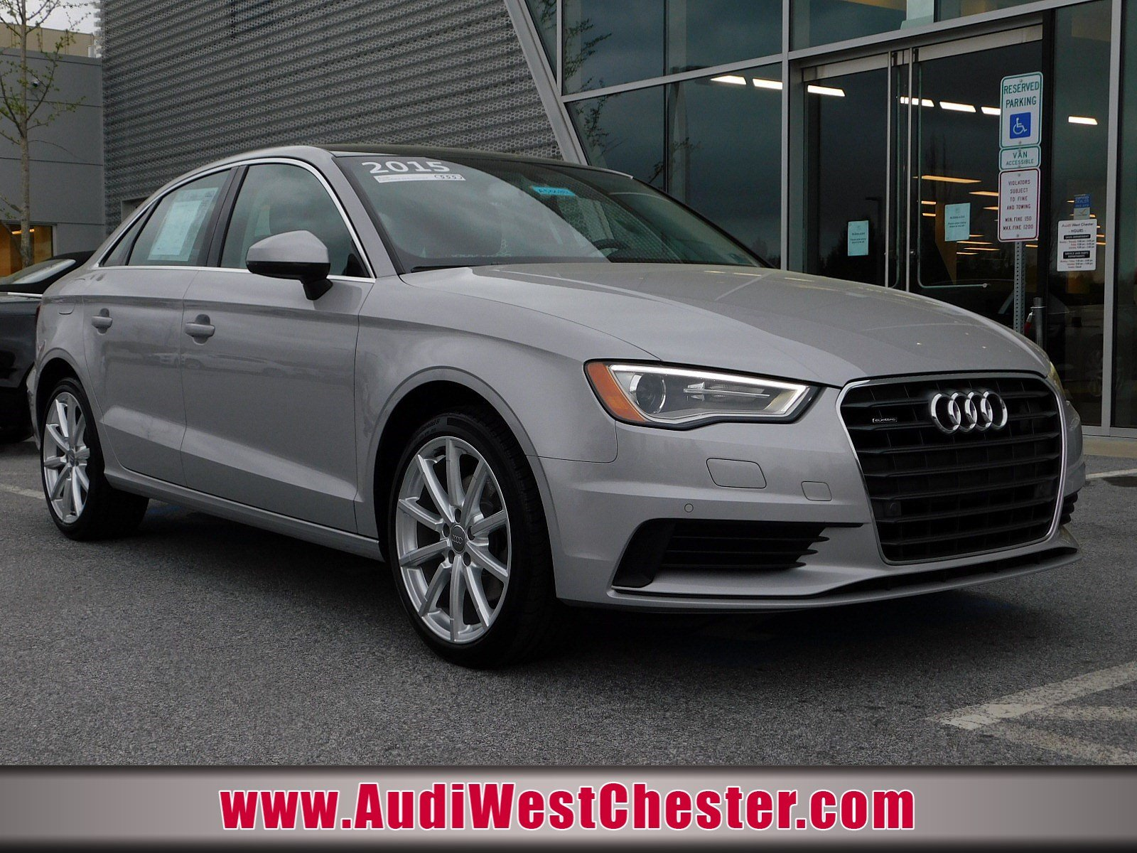 Used 2015 Audi A3 For Sale at Audi West Chester   VIN