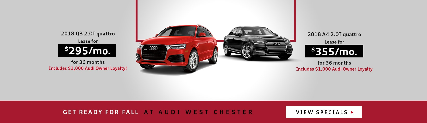 Welcome To Audi West Chester Pennsylvania Audi Dealer - Audi lease deals nj