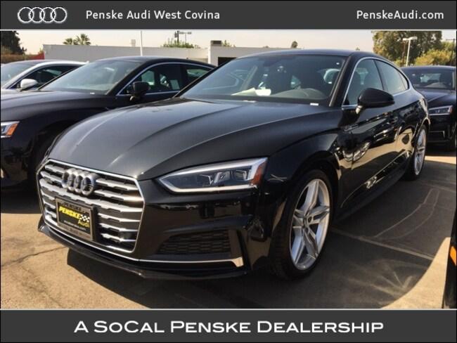 New 2018 Audi A5 2.0T Premium Plus Sportback West Covina