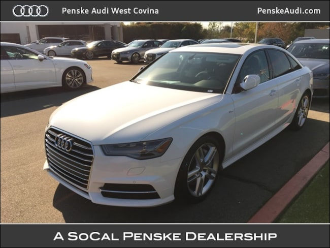 Certified Pre-Owned 2016 Audi A6 2.0T Premium Sedan West Covina