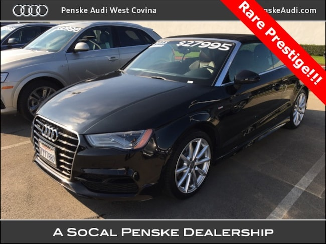 Certified Pre-Owned 2015 Audi A3 2.0T Premium (S tronic) Cabriolet West Covina