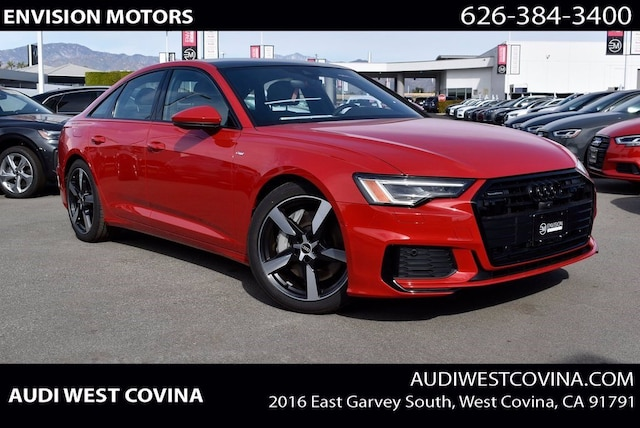 New 2021 Audi A6 Premium Plus Sedan for sale in West Covina CA