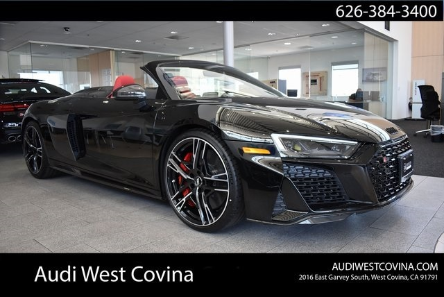 New 2020 Audi R8 5.2 Convertible For Sale in West Covina, CA
