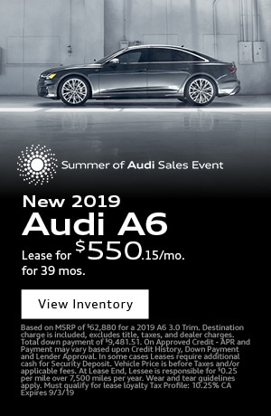 August 2019 Audi A6 Special