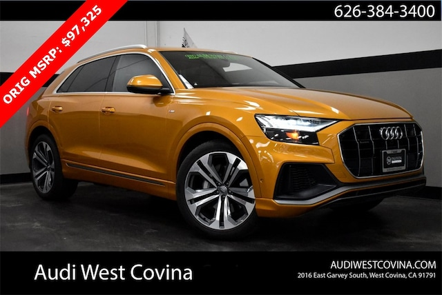 New 2020 Audi Q8 55 Prestige SUV For Sale in West Covina, CA