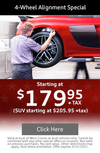 4-Wheel Alignment Special May 2021