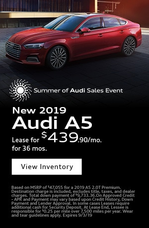 August 2019 Audi A5 Special
