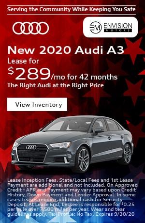 September | 2019 Audi A3 | Special