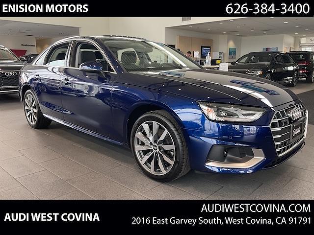 New 2022 Audi A4 Premium Sedan in West Covina, CA