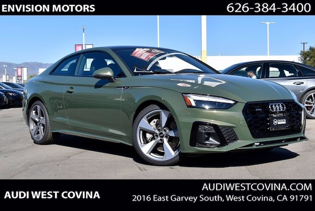 New 2021 Audi A5 2.0T Premium Coupe For Sale in West Covina, CA