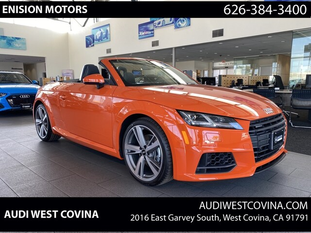 New 2021 Audi TT 2.0T Roadster Convertible For Sale in West Covina, CA