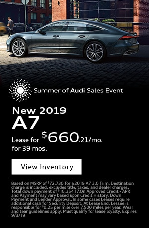 August 2019 Audi A7 Special