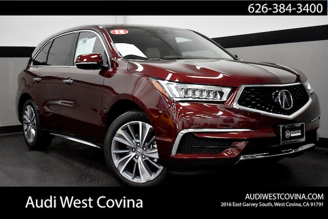 Used 2018 Acura MDX 3.5L SUV in West Covina, CA
