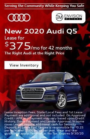 September | 2020 Audi Q5 | Lease
