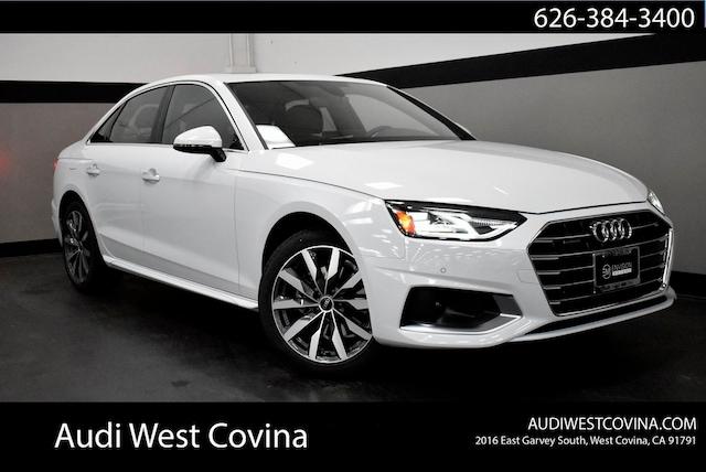 New 2021 Audi A4 Sedan in West Covina, CA
