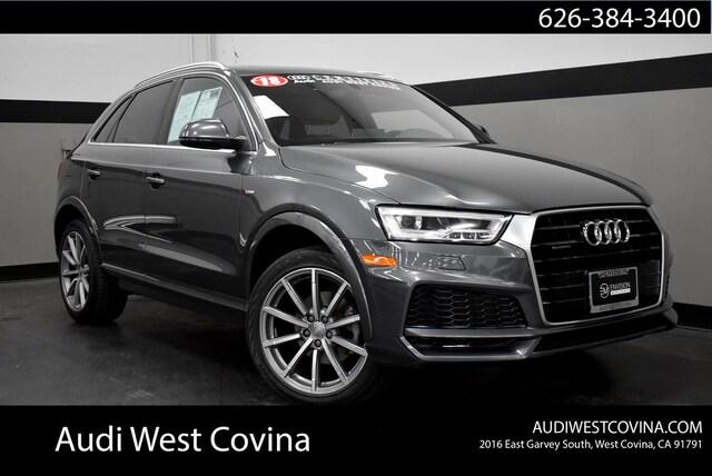 Used 2018 Audi Q3 2.0T Premium SUV in West Covina, CA