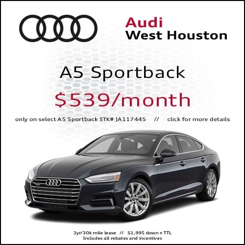 Audi Lease Specials In Houston Audi West Houston - Audi lease specials